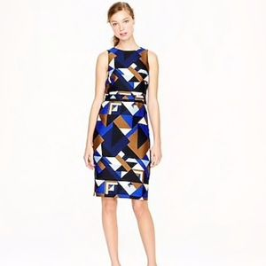 J Crew Collection Size 2 Dress Cubist Print